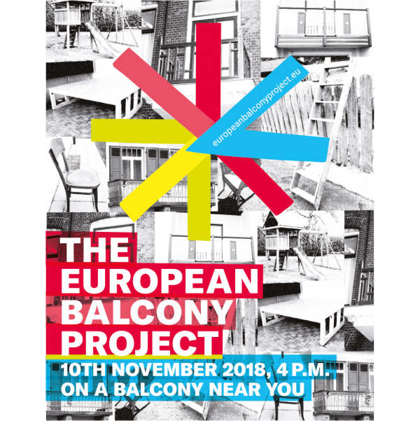 Poster, European Balcony Project