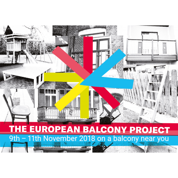 Postcard, European Balcony Project